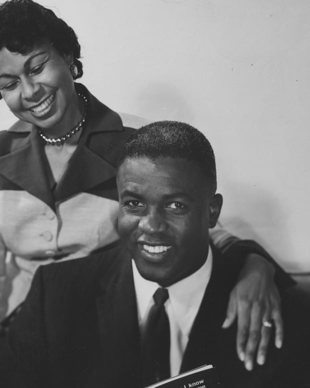 Rachel and Jackie Robinson