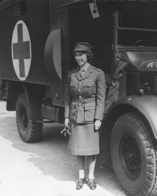 Queen Elizabeth II World War II
