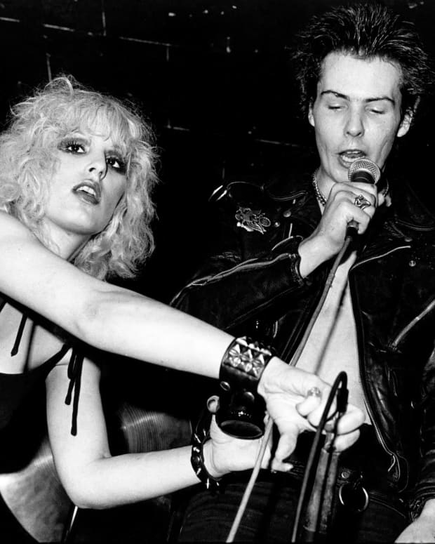 Sid Vicious and Nancy Spungen in New York City, circa 1978