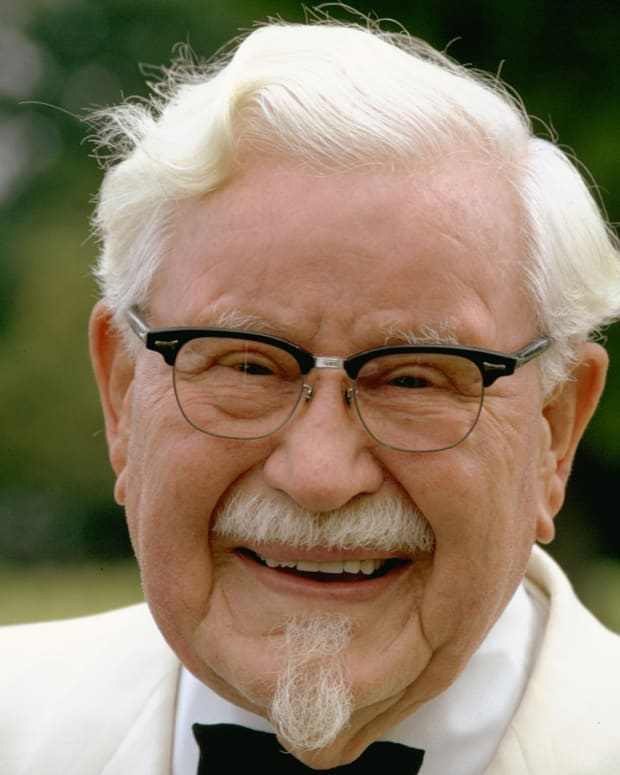 Colonel Harland Sanders, Kentucky Fried Chicken