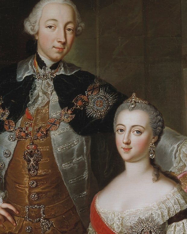 Peter III and Catherine the Great