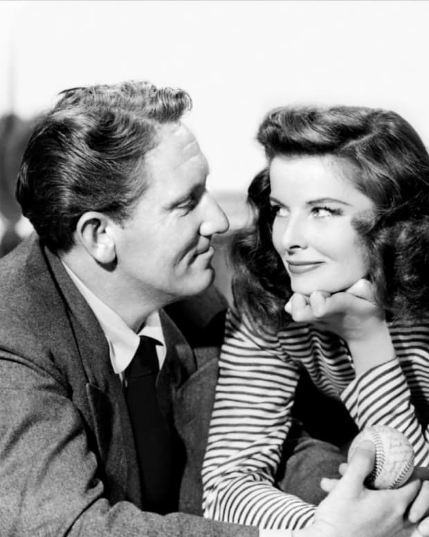 Spencer Tracy and Katharine Hepburn in 'Woman of the Year'