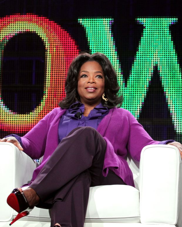 Oprah Winfrey Photo Gallery: Oprah continues to play an instrumental role on and off camera. On January 1, 2011 she launched the Oprah Winfrey Network, which airs the series Behind The Scenes, giving viewers an exclusive look at the making of Oprah's talk show. (Photo: Getty Images)