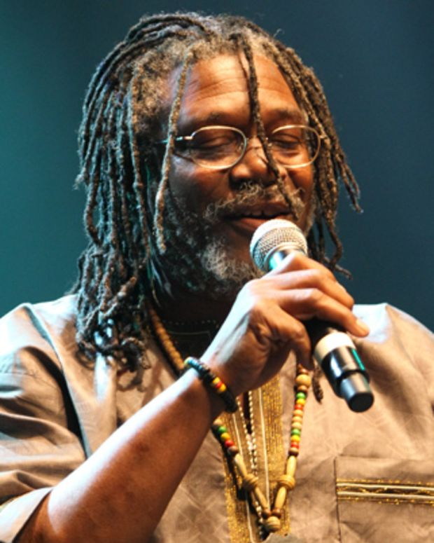 UNITED KINGDOM - JUNE 15:  QUEEN ELIZABETH HALL Photo of Horace ANDY, Horace Andy performing on stage as part of the Meltdown Festival  (Photo by Philip Ryalls/Redferns)