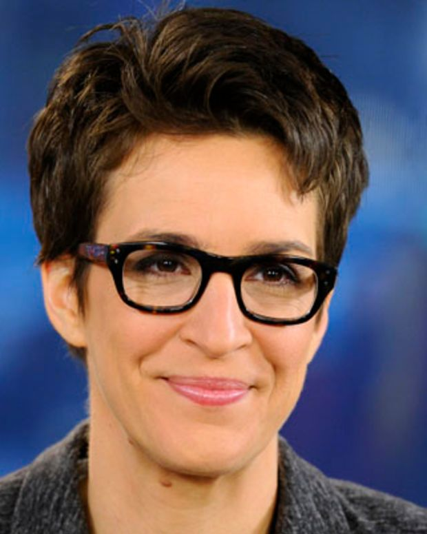 TODAY -- Pictured: Rachel Maddow appears on NBC News' 'Today' show -- (Photo by: Peter Kramer/NBC/NBC NewsWire)