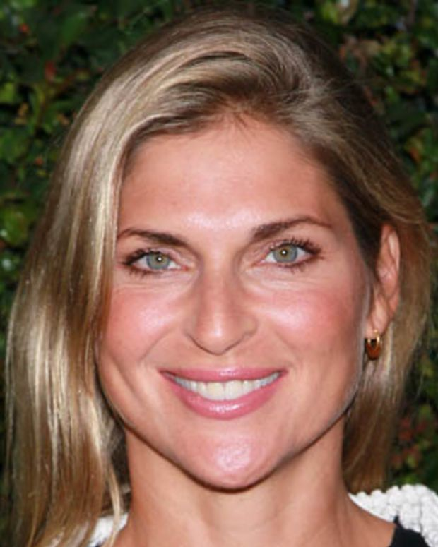 MALIBU, CA - JUNE 04:  Pro volleyball player Gabrielle Reece attends Chanel's benefit dinner for the Natural Resources Defense Council's Ocean Initiative at the home of Ron & Kelly Meyer on June 4, 2011 in Malibu, California.  (Photo by David Livingston/Getty Images)