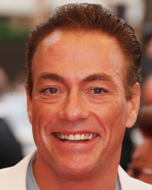 CANNES, FRANCE - MAY 16:  Actor Jean Claude Van Damme arrives at the Un Conte De Noel Premiere at the Palais des Festivals during the 61st International Cannes Film Festival on May 16 , 2008 in Cannes, France.  (Photo by Francois Durand/Getty Images)