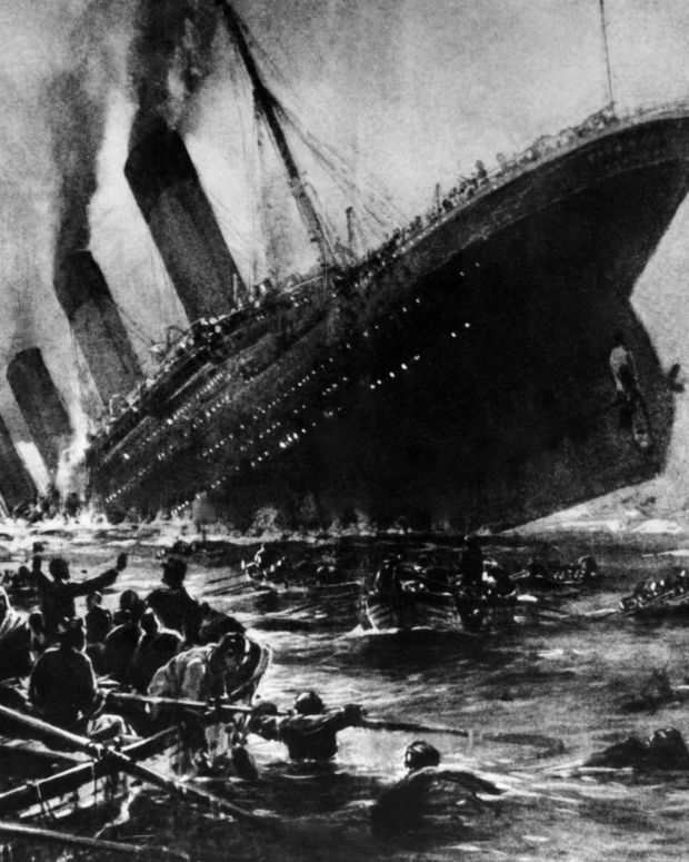 Titanic Sinking Photo