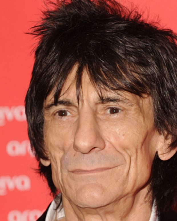 LONDON, UNITED KINGDOM - JULY 04: Ronnie Wood attends the Arqiva Commercial Radio Awards at Park Plaza Westminster Bridge Hotel on July 4, 2012 in London, England. (Photo by Stuart Wilson/Getty Images)