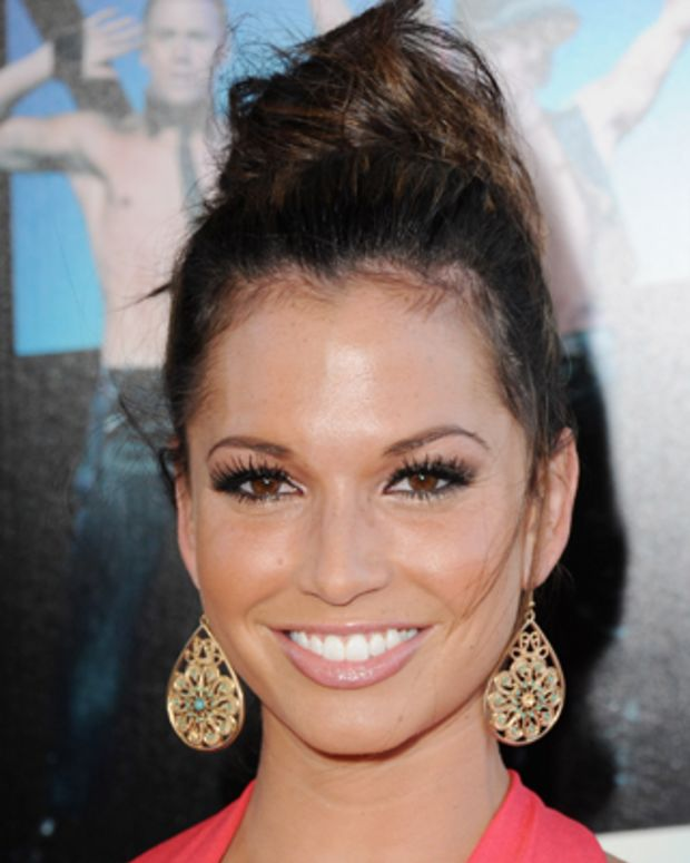 LOS ANGELES, CA - JUNE 24:  Reality personality Melissa Rycroft arrives at the 'Magic Mike' Closing Night Premiere at the 2012 Los Angeles Film Festival at Regal Cinemas L.A. Live on June 24, 2012 in Los Angeles, California.  (Photo by Jon Kopaloff/FilmMagic)