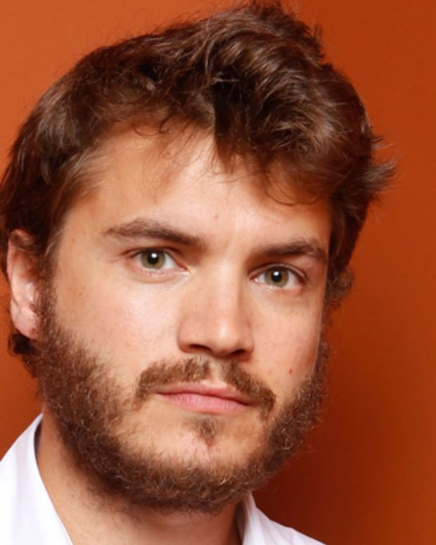 TORONTO, ON - SEPTEMBER 13:  Actor Emile Hirsch of 'Twice Born' poses at the Guess Portrait Studio during 2012 Toronto International Film Festival on September 13, 2012 in Toronto, Canada.  (Photo by Matt Carr/Getty Images)