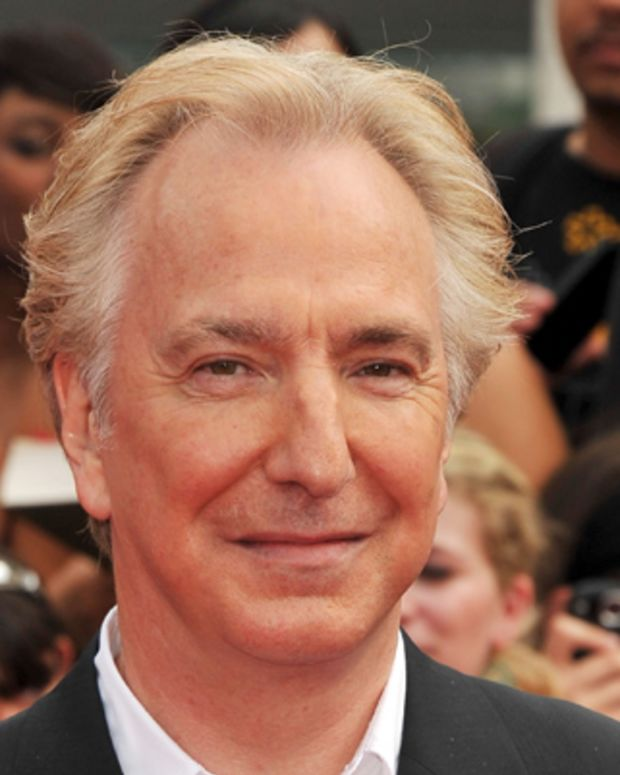 NEW YORK, NY - JULY 11:  Alan Rickman attends the New York premiere of 'Harry Potter And The Deathly Hallows: Part 2' at Avery Fisher Hall, Lincoln Center on July 11, 2011 in New York City.  (Photo by Stephen Lovekin/Getty Images)