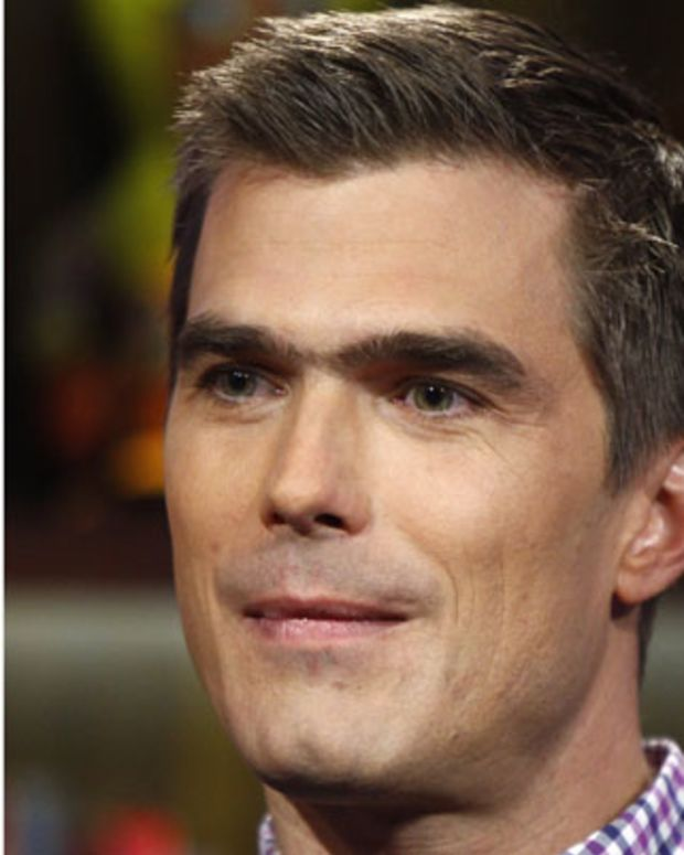 WATCH WHAT HAPPENS LIVE -- Pictured: Hugh Acheson -- Photo by: Peter Kramer/Bravo/NBCU Photo Bank