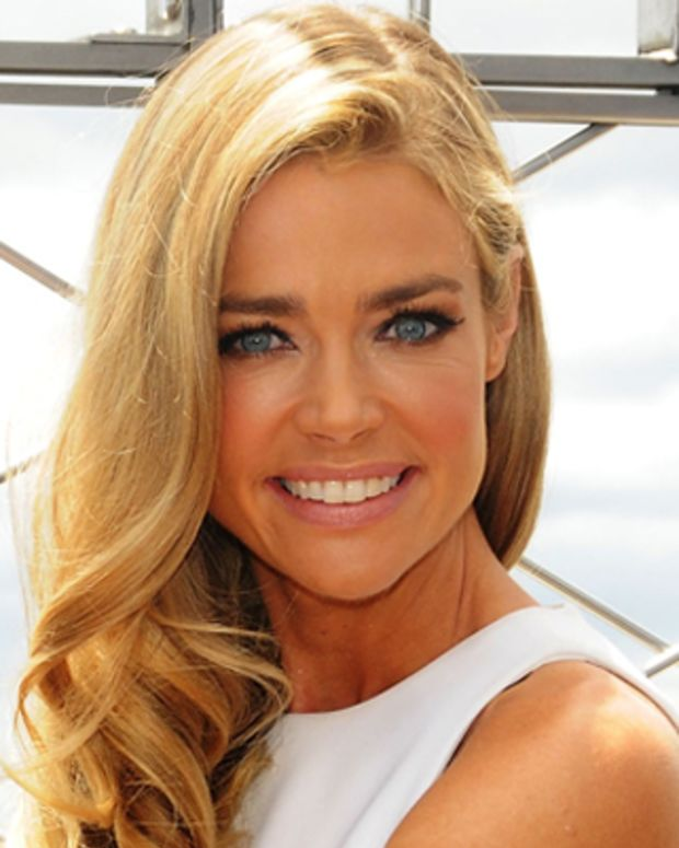 NEW YORK, NY - JUNE 26:  Actress Denise Richards visits The Empire State Building on June 26, 2012 in New York City.  (Photo by Desiree Navarro/WireImage)