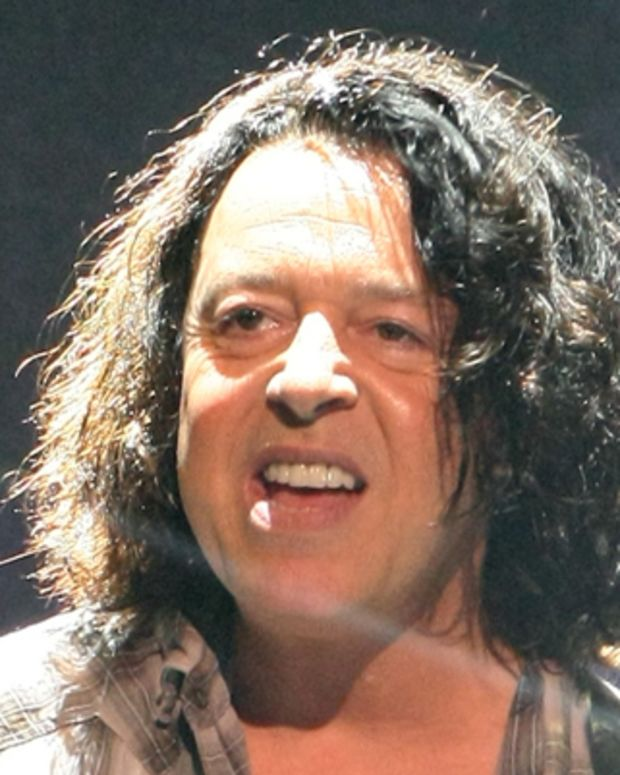 Roland Orzabal of British rock band Tears for Fears performs during their concert in Taipei, Taiwan, May 8, 2010.