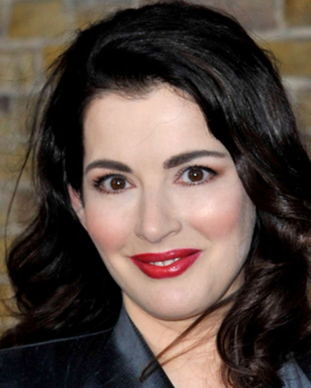 LONDON, ENGLAND - SEPTEMBER 08:  Nigella Lawson attends a book launch party for Charles Saatchi's 'My Name Is Charles Saatchi And I Am An Artoholic' at Saatchi Gallery on September 8, 2009 in London, England.  (Photo by Simon James/WireImage) *** Local Caption *** Nigella Lawson