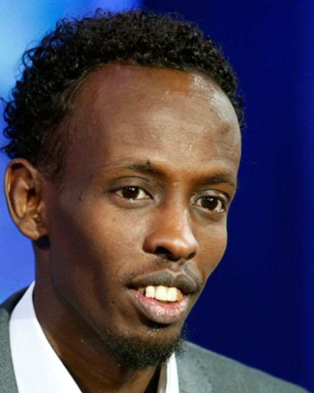 TODAY -- Pictured: Barkhad Abdi appears on NBC News' 'Today' show -- (Photo by: Peter Kramer/NBC/NBC NewsWire)