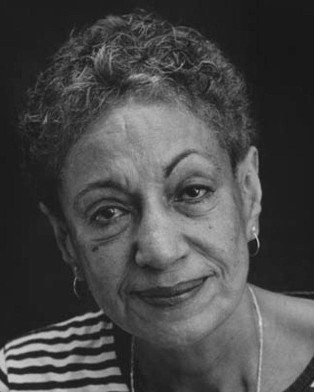 Portrait of writer June Jordan, Berkeley, California, 2001. (Photo by Chris Felver/Getty Images)