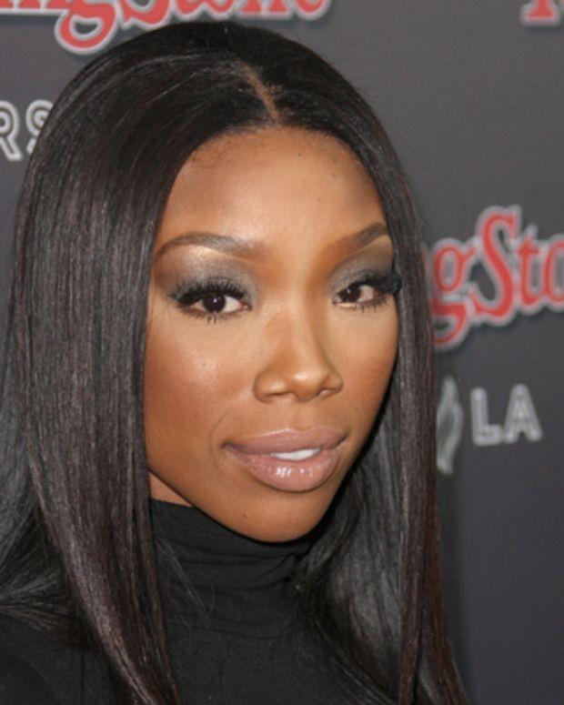 LOS ANGELES, CA - NOVEMBER 21:  Recording artist Brandy attends the Rolling Stone 2010 American Music Awards VIP after party on November 21, 2010 in Los Angeles, California.  (Photo by Frederick M. Brown/Getty Images) *** Local Caption *** Brandy
