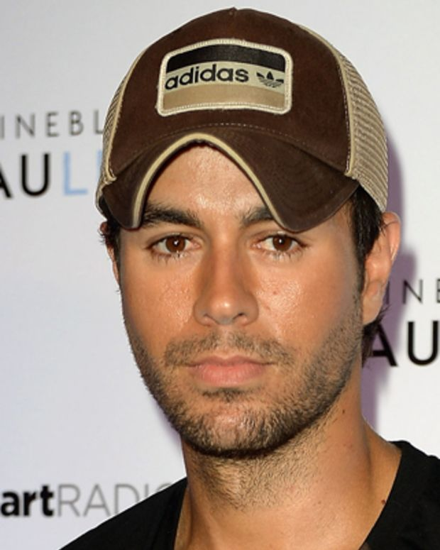 MIAMI BEACH, FL - JUNE 30:  Enrique Iglesias arrives at I Heart Radio concert at Fontainebleau Miami Beach on June 30, 2012 in Miami Beach, Florida.  (Photo by Gustavo Caballero/WireImage)