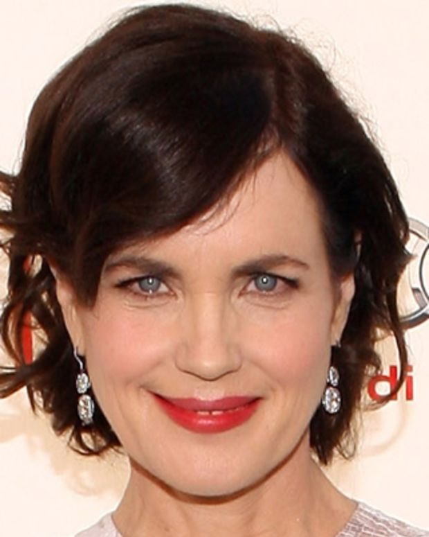 CULVER CITY, CA - JUNE 07:  Actress Elizabeth McGovern arrives at The 40th AFI Life Achievement Award Honoring Shirley MacLaine sponsored by Audi at Sony Pictures Studios on June 7, 2012 in Culver City, California.  (Photo by Jesse Grant/WireImage)
