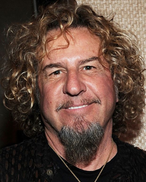 LAS VEGAS, NV - FEBRUARY 17:  Sammy Hagar attends the Beach Bar Rum launch at Cabo Wabo Cantina on February 17, 2012 in Las Vegas, Nevada.  (Photo by Denise Truscello/WireImage)
