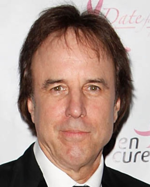 UNIVERSAL CITY, CA - FEBRUARY 16:  Host and comedian Kevin Nealon poses at the Date for the Cure To Benefit Susen G. Komen For The Cure on February 16, 2013 in Universal City, California.  (Photo by Todd Oren/WireImage)
