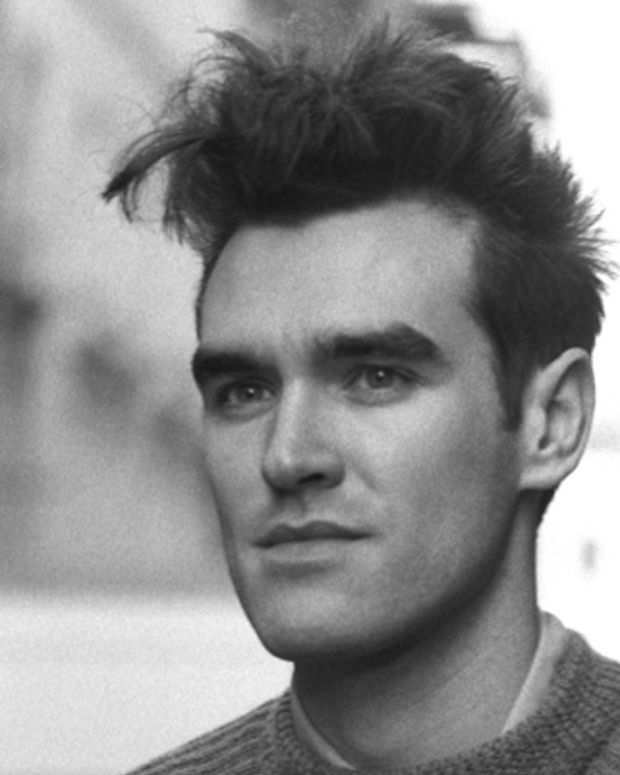 UNITED KINGDOM - JANUARY 01:  Photo of MORRISSEY and SMITHS; Morrissey, posed  (Photo by Kerstin Rodgers/Redferns)