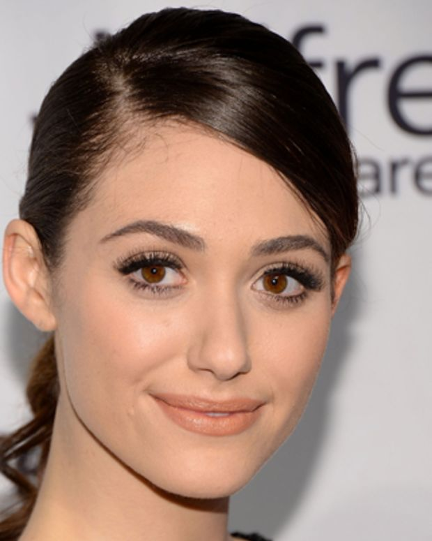 NEW YORK, NY - APRIL 02:  Actress Emmy Rossum attends the Jeffrey Fashion Cares 10th Anniversary Celebration at The Intrepid on April 2, 2013 in New York City.  (Photo by Andrew H. Walker/Getty Images)