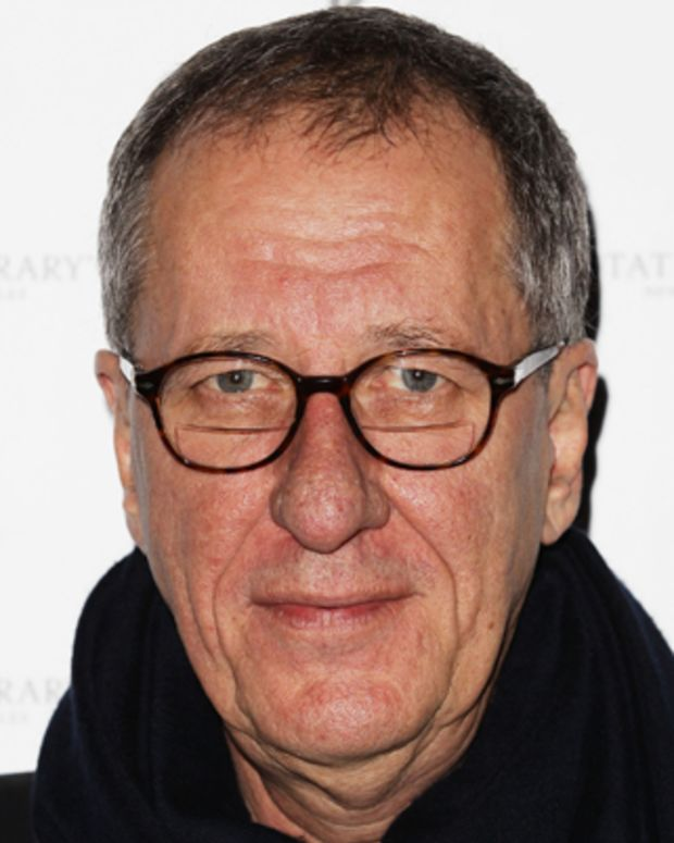 SYDNEY, AUSTRALIA - JULY 27: Geoffrey Rush arrives at the 'The Eye of the Storm' Sydney Premiere on July 27, 2011 in Sydney, Australia.  (Photo by Brendon Thorne/Getty Images)
