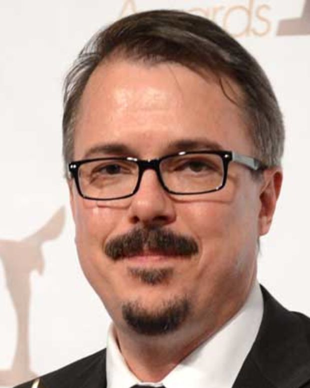 LOS ANGELES, CA - FEBRUARY 17:  Writer Vince Gilligan, winner of the Writers Guild Award for Outstanding Drama Series poses in the press room during the 2013 WGAw Writers Guild Awards at JW Marriott Los Angeles at L.A. LIVE on February 17, 2013 in Los Angeles, California.  (Photo by Jason Kempin/Getty Images for WGAw)