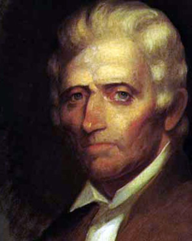 Daniel Boone Portrait Photo