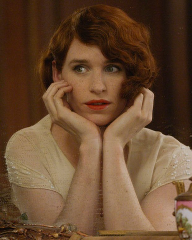 Eddie Redmayne in The Danish Girl Courtesy of Focus Features