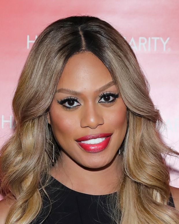 Laverne Cox photo via Getty Images