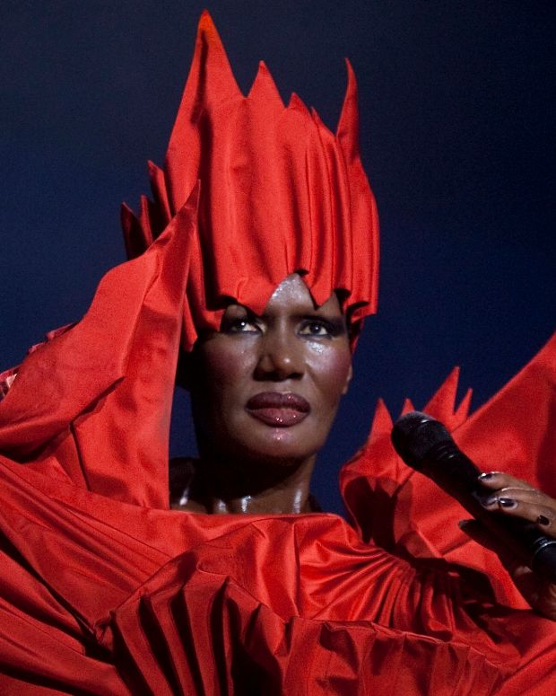 Grace Jones photo via Getty Images