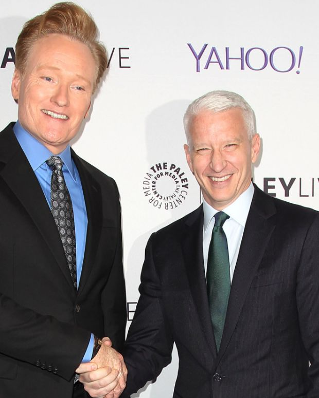 Conan O'Brien Anderson Cooper Photo