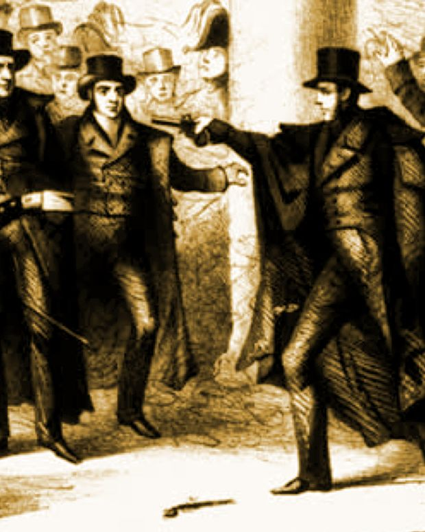 Andrew Jackson Assassination Attempt Photo