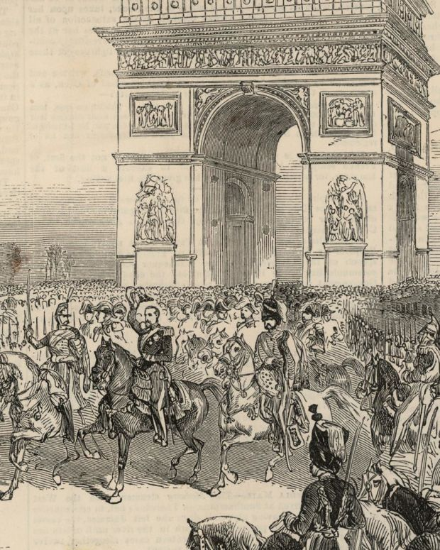Napoleon - The Arc de Triomphe