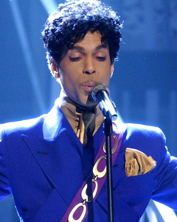 Prince at the Grammy Awards in 2004