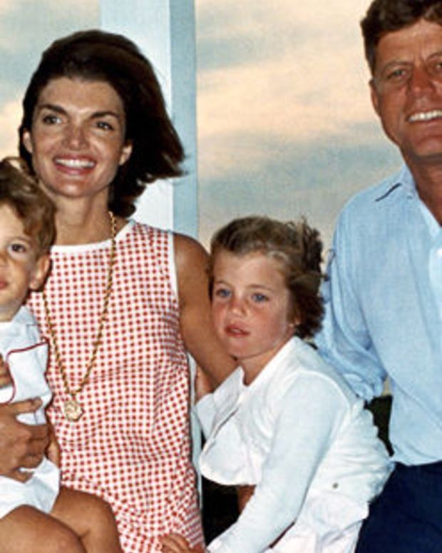 Jackie Kennedy and family