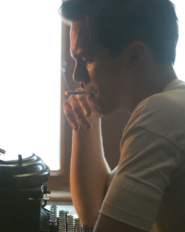 Nicholas Hoult in Rebel in the Rye