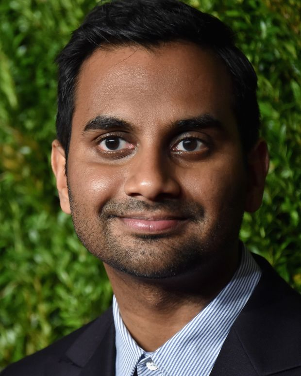 Aziz Ansari photo via Getty Images