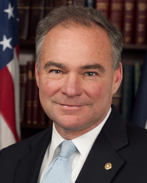 Tim Kaine official photo via Virginia state gov