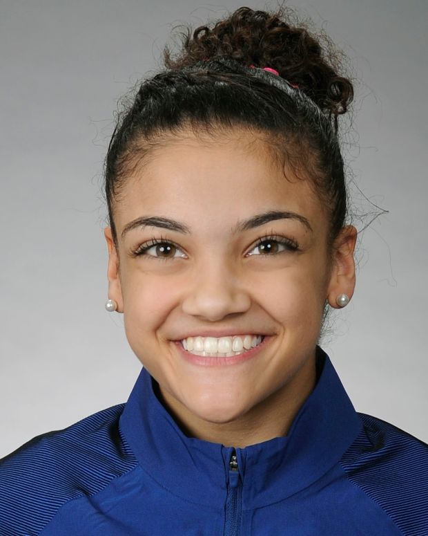 Laurie Hernandez photo via Official Olympic Team site press photos