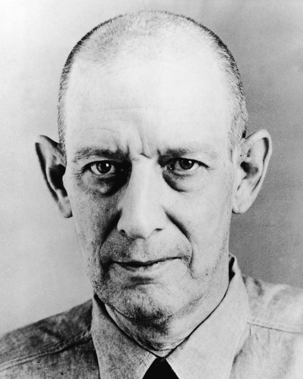 Robert Stroud, Birdman of Alcatraz photo, via Getty Images