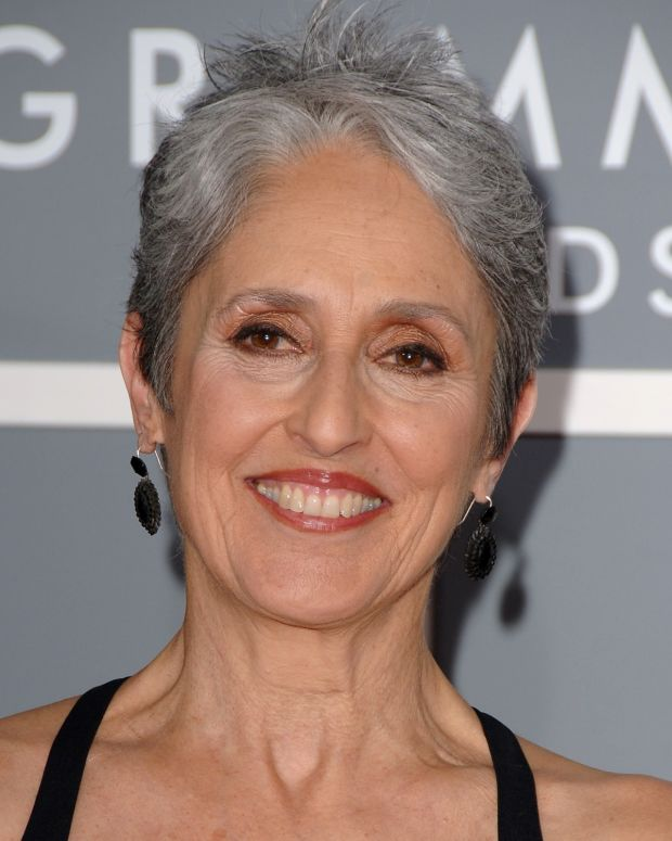 Joan Baez photo via Getty Images