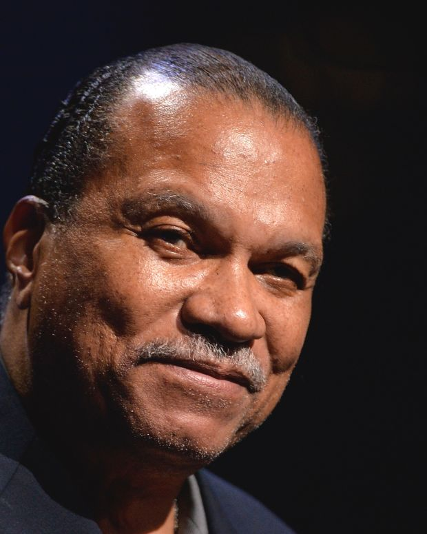 Billy Dee Williams photo via Getty Images