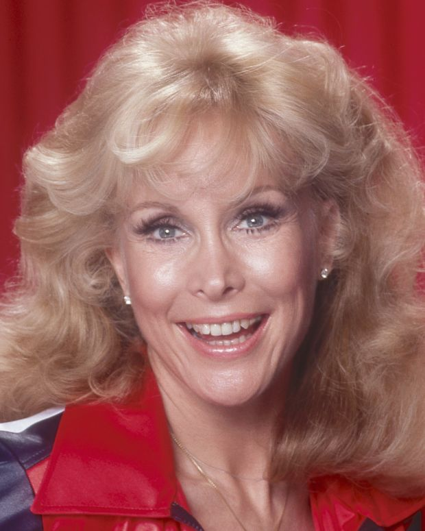 Barbara Eden in 1990 Photo by Harry Langdon/Getty Images