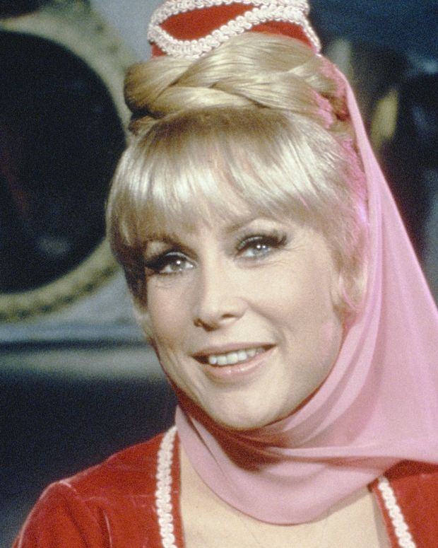 Barbara Eden in 'I Dream of Jeannie' Photo by NBC/Getty Images