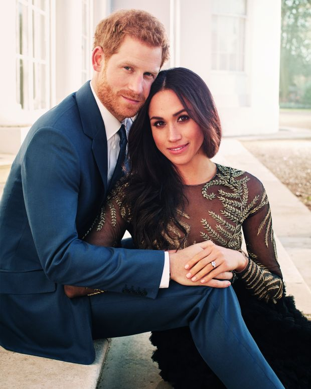 Prince Harry Meghan Markle Royal Engagement Photo